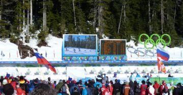 светодиодный экран для Олимпийских Игр