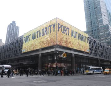 Port Authority Bus Terminal на Манхеттене