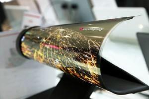 рекламные  OLED экраны