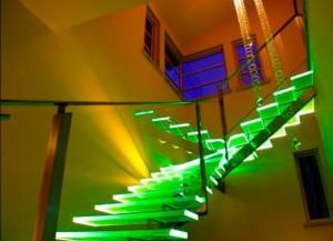 светодиодные ступени